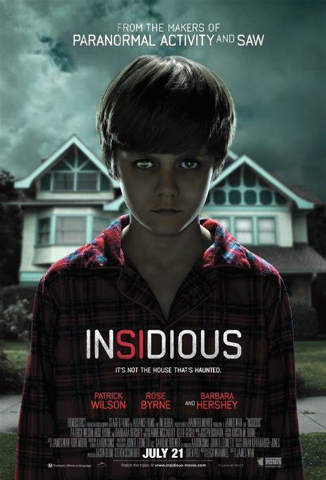 insidious movie genre insidious 2010 movie review apocalyptic demise