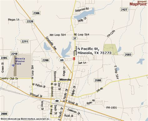 map of mineola texas etw home page