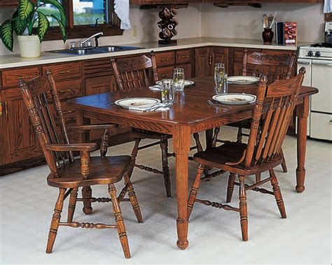 harvest style dining table ohio amish furniture index arts in heaven