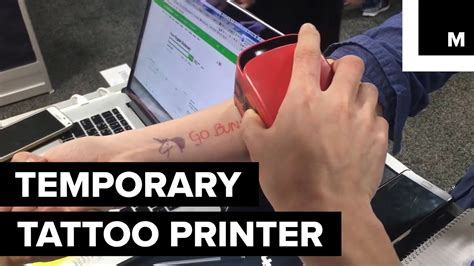 temporary tattoo using printer temporary tattoo printer youtube
