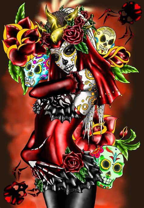 eldia de la muertos by fachhillis on deviantart