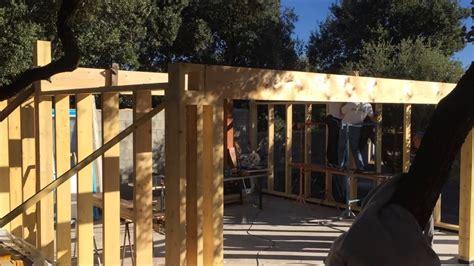 Construire Garage En Bois by Construire Un Garage En Ossature Bois