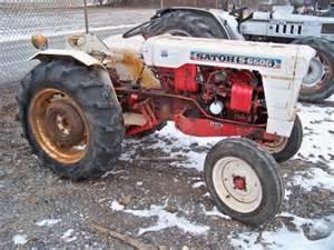 Mitsubishi Satoh Tractor Parts Satoh S650g Mitsubishi Compact Tractor Fixup Or Parts Ebay