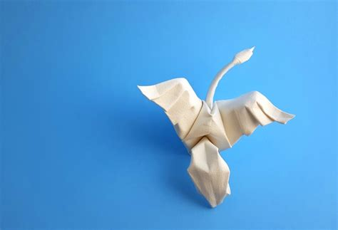 Folding Paper Swan - origami swans gilad s origami page
