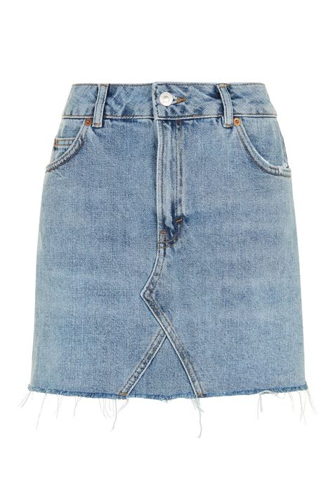 Cool Stock by Moto Mini Denim Skirt Topshop