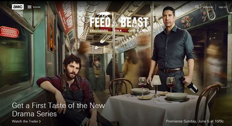 Amc Live Without Cable Fans Amc S Feed The Beast Or For Free