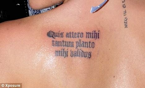 tattoo font blade latin tattoo quotes and meanings quotesgram