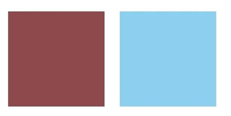 what color mostly goes with baby blue quora