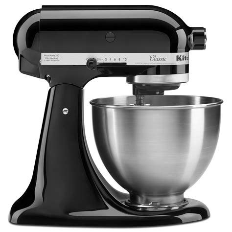 all black kitchenaid mixer amazon com kitchenaid k45ssob 4 5 quart classic series stand mixer onyx black electric stand