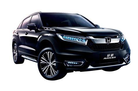 suv honda flagship honda avancier suv revealed in beijing