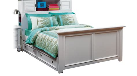 twin trundle bed with bookcase headboard belmar white 4 pc twin bookcase bed w trundle