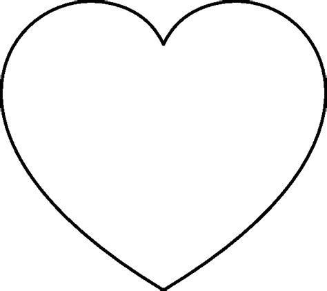 coloring page heart shape free coloring pages of shape heart 8497 bestofcoloring com