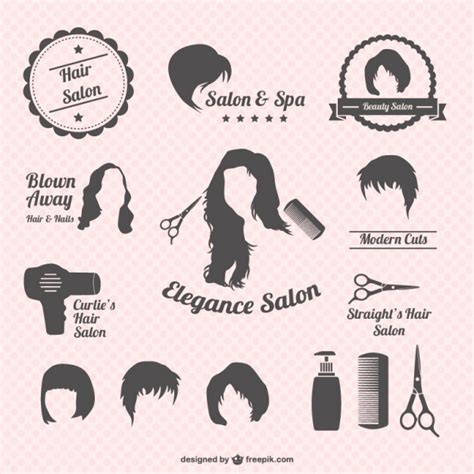 free hair salon layout design hair salon graphics vector free download