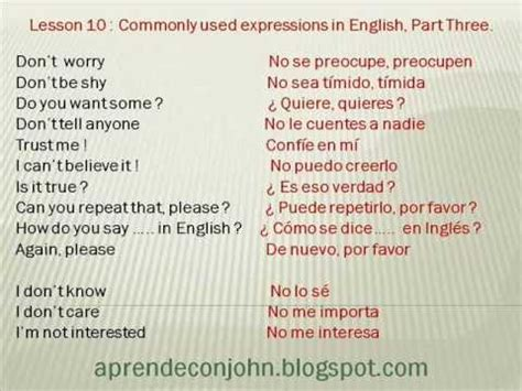 preguntas mas comunes en ingles con pronunciacion frases cotidianas en ingl 233 s parte 3 youtube