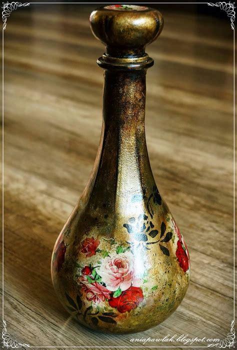 Decoupage Glaze - 1096 best bottles glass butelki szk蛯o images on