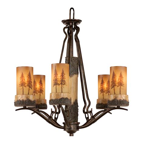 Rustic Chandeliers Rustic Chandeliers Pine Meadow Chandelier Black Forest Decor