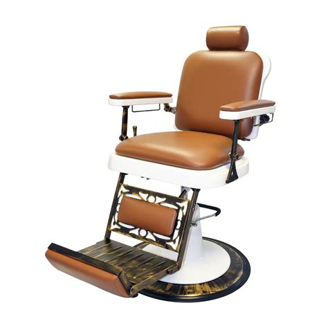 Barber Chairs by Pibbs 662 The King Reclining Barber Chair