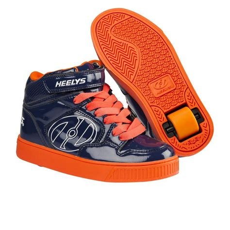 heelys shoes heelys fly shoes navy orange free uk delivery on all