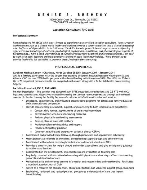 Neonatal Resume Objective Labor And Delivery Resume Berathen