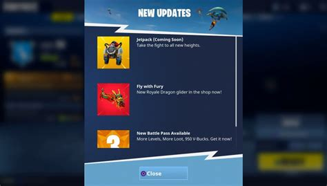 fortnite new items new item coming soon to fortnite jet packs fortnite intel