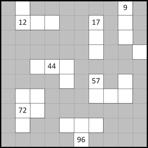 printable number grid puzzles number grid puzzles 10 variations