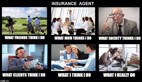 what my friends think i do template image tagged in what i really do insurance money