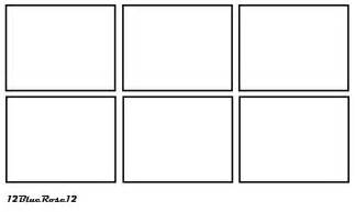 Comic Book Panel Template by 6 Panel Comic Template By 12bluerose12 On Deviantart