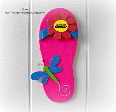 stacey s creative corner flip flop home decor