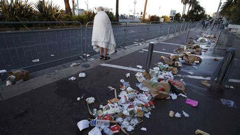 imagenes fuertes del atentado en francia atentado niza el mapa del recorrido del cami 243 n del