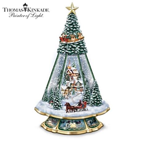 christmas tree water mixture collectible gifts snowglobe waterglobe