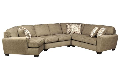 sectional with cuddler patola park 4 piece sectional w laf cuddler living spaces