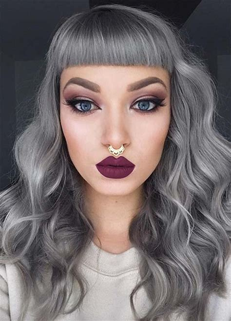 color grey hair 85 silver hair color ideas and tips for dyeing