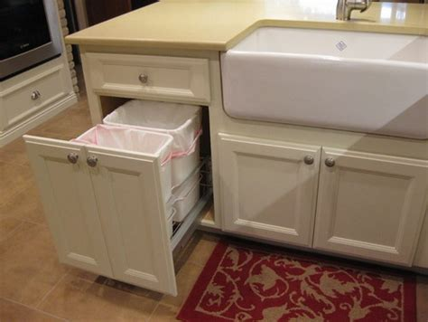cutting kitchen cabinets 20 best images about trash can on pinterest