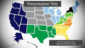 united states map powerpoint template 6323 free united