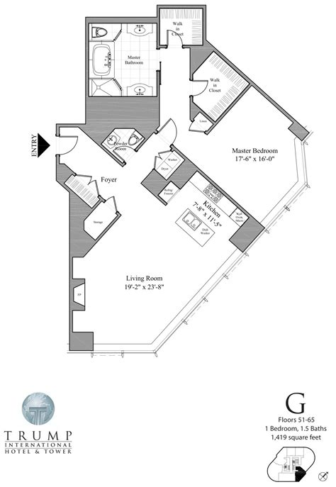Trump Chicago Floor Plans by Trump Tower Chicago 401 N Wabash Floor Plans Views