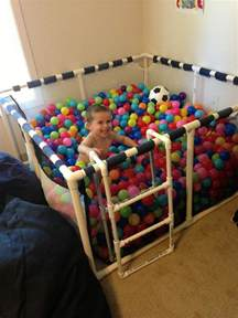 Childrens Plastic Table And Chairs How To Build A Ball Pit For Your Kids Home Design