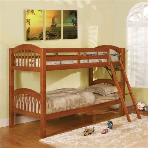 Best Deal On Bunk Beds Coney Island Oak Finish Size Bunk Bed Best Deals Toys