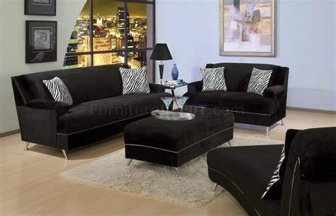 velvet living room furniture black velvet contemporary living room w stylish chrome legs
