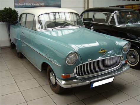 1957 opel olympia information and photos momentcar