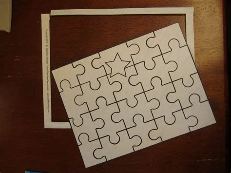Paper Puzzles To Make - diy recycled cereal box puzzle 183 how to make a puzzle
