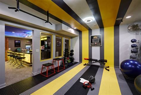 Home Gym Studio Design | 70 home gym ideas and gym rooms to empower your workouts