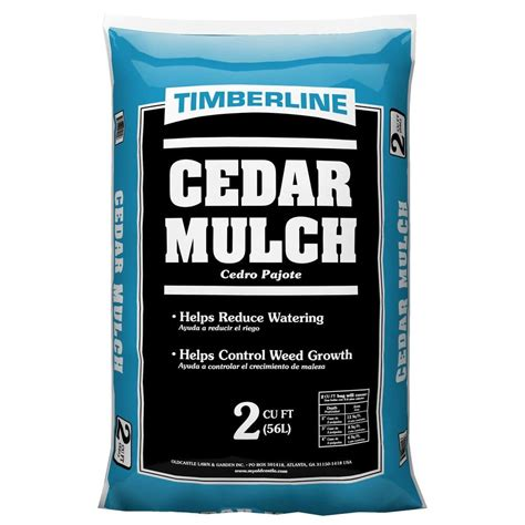2 0 cu ft cedar mulch 52058060 the home depot