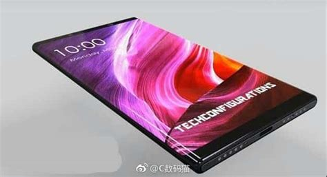 2 Mix One xiaomi mi mix 2 concept images pop up curved display in tow androidheadlines