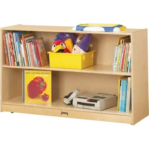Jonti Craft Bookcase jonti craft low adjustable bookcase 0792jc jonti craft