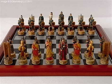 Themed Chess Sets | smaller themed chess set mini theme chess sets