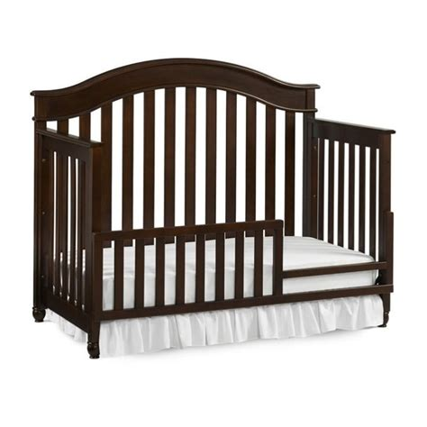 Convertible Crib Rails Evolur Convertible Crib Toddler Guard Rail In Espresso 811 E