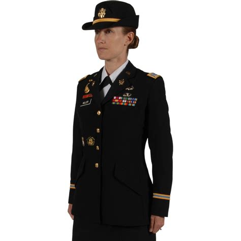 army officer s dress blue asu coat female jackets
