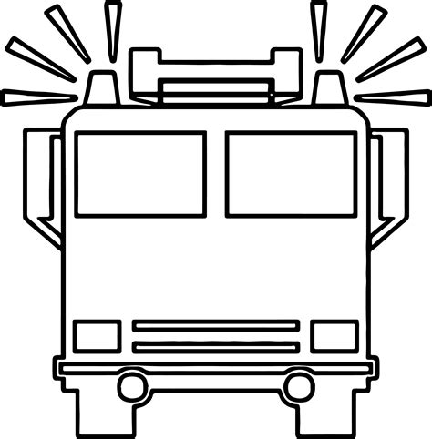 box truck coloring page fire truck front box coloring page wecoloringpage