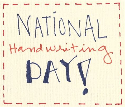 what day is national day happy tots day nursery national handwriting day