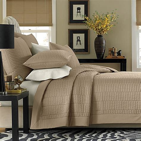 real simple bedding real simple 174 dune coverlet bed bath beyond